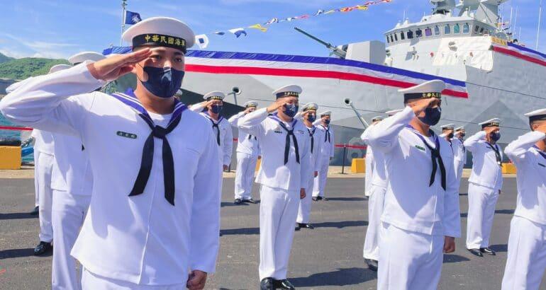 Taiwan Commissions First Upgraded Catamaran Corvette Ta Chiang 塔江
