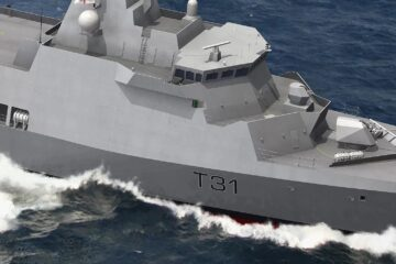 Babcock cuts steel for Royal Navy's first Type 31 frigate HMS VENTURER