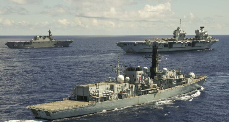 UK and Japan begin talks on deeper Defence relationship