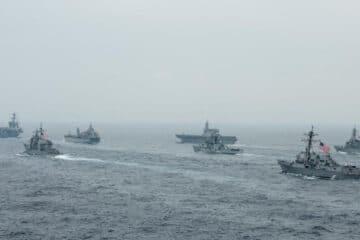 Australia, India, Japan, and US launch MALABAR 21 Phase II exercise