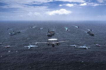 Warships from Australia, Japan, U.K., and U.S. join forces in MPX 2021
