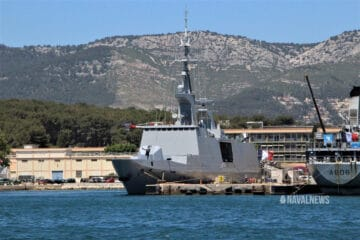 First Upgraded La Fayette-class Frigate back into the French Fleet