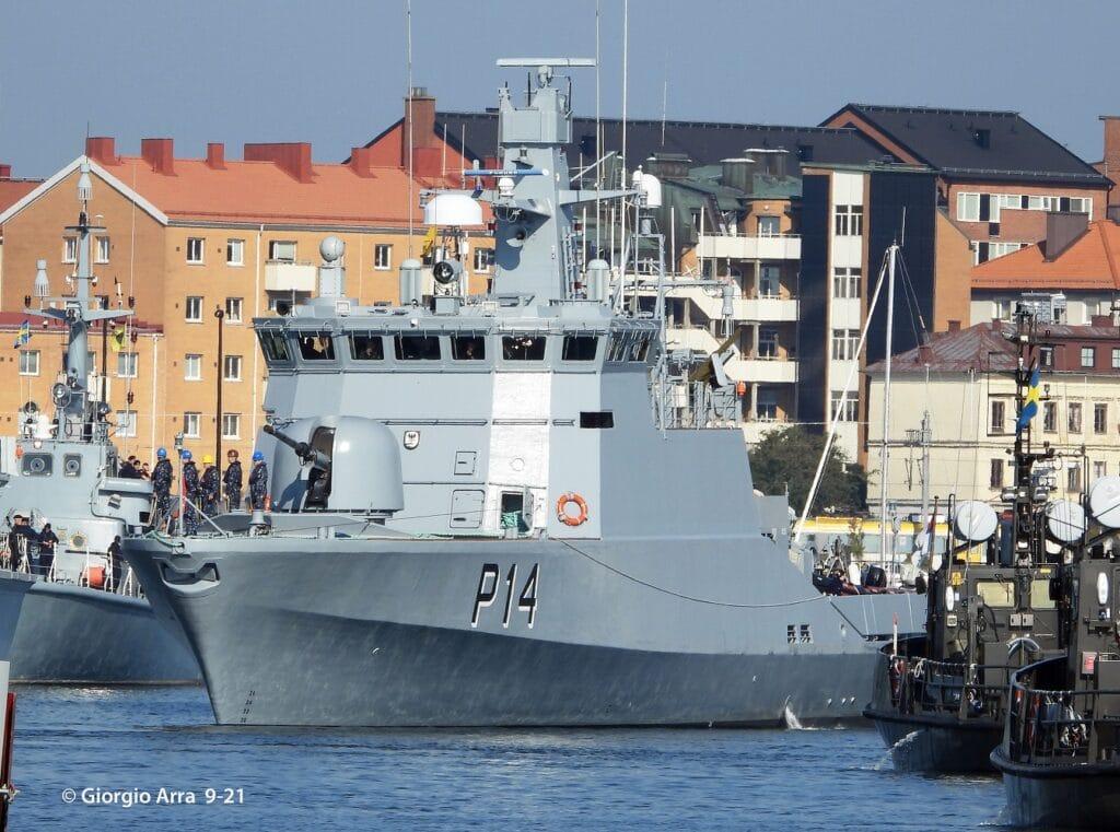 Flyvefisken-class patrol vessel Aukstaitis