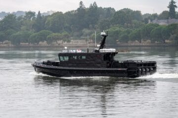 UFAST Launches First New Patrol Boat For French Navy's Fusiliers