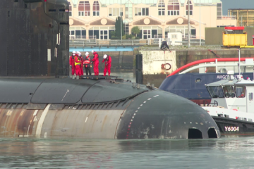 French SSN Perle Overhaul to Resume Following Unique Repair Work