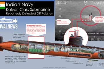 Incident: Indian Navy Submarine Reported In International Waters Off Pakistan