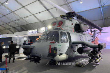 KAI Unveils New MAH Marineon Helicopter at ADEX 2021