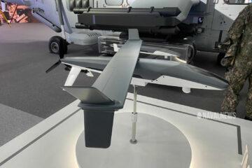 KAI unveils new MUM-T UAV at ADEX 2021