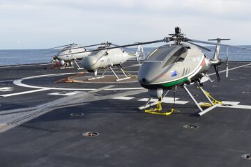 Leonardo's AWHero achieves world's first military certification for a Rotary UAS in its category