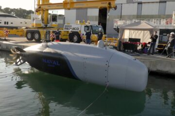 Video: Naval Group Unveils XLUUV Demonstrator