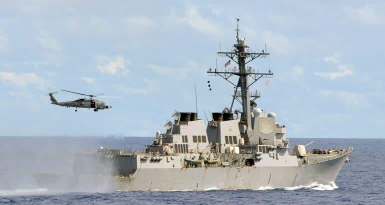 SH-60 Arleigh Burke-class Destroyer DDG 51