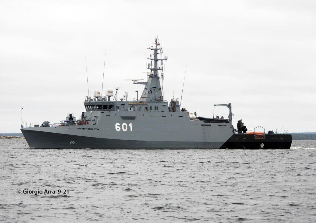Polish Navy MCMV Kormoran