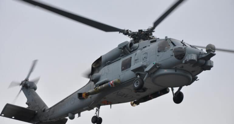 Royal Australian Navy MH-60R Helicopter