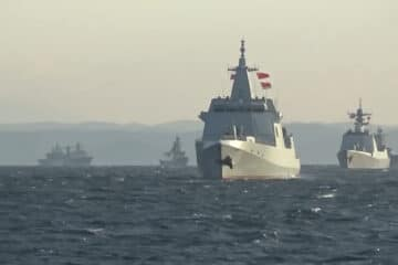 Video: Russia – China Combined Naval Drills in Sea of Japan