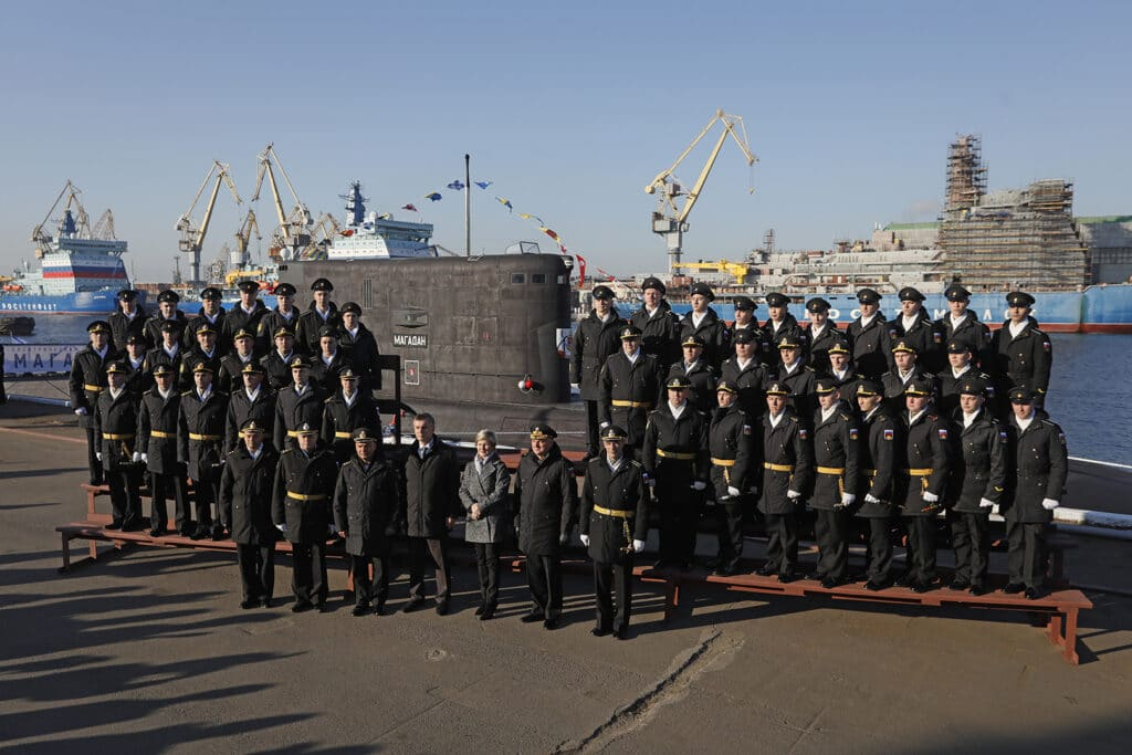 Russian Navy Commissions 9th Project 636.3 Submarine 'Magadan