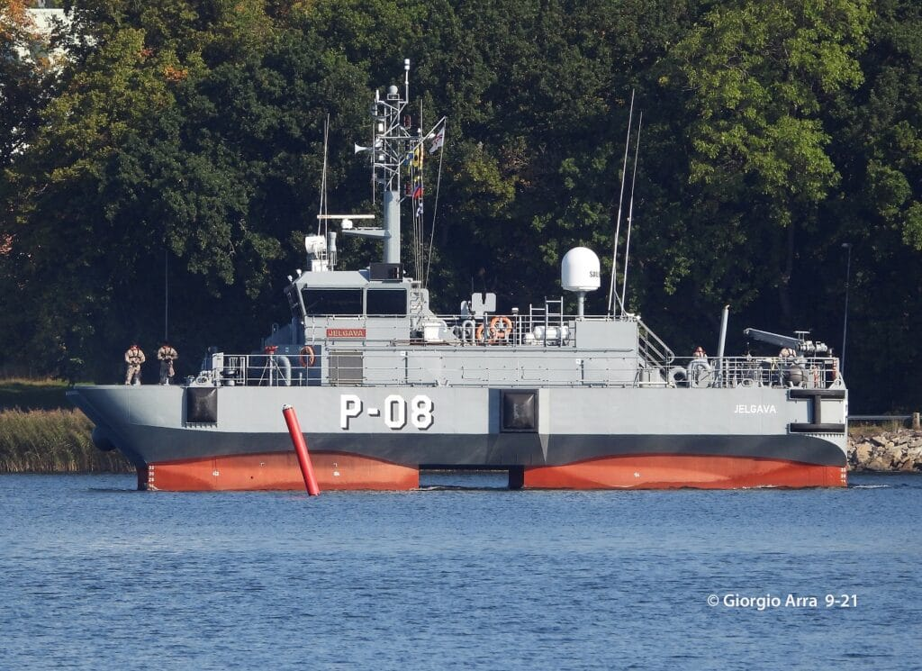 Skrunda-class patrol boat Jelgava