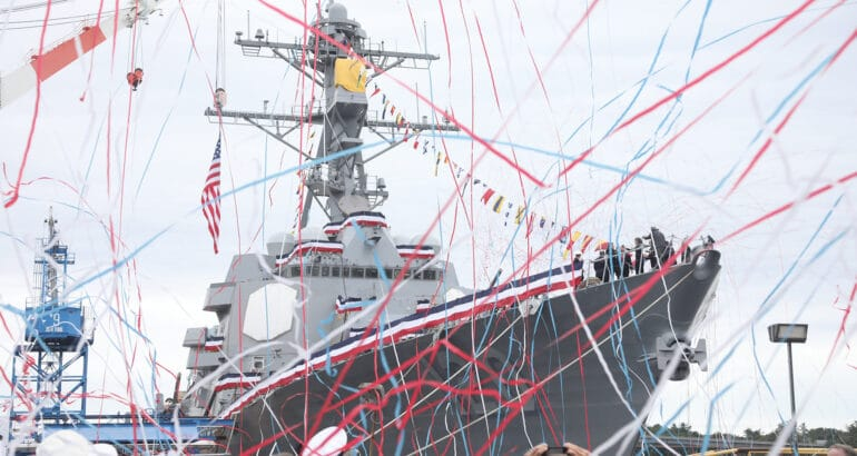 USS Carl M. Levin DDG 120
