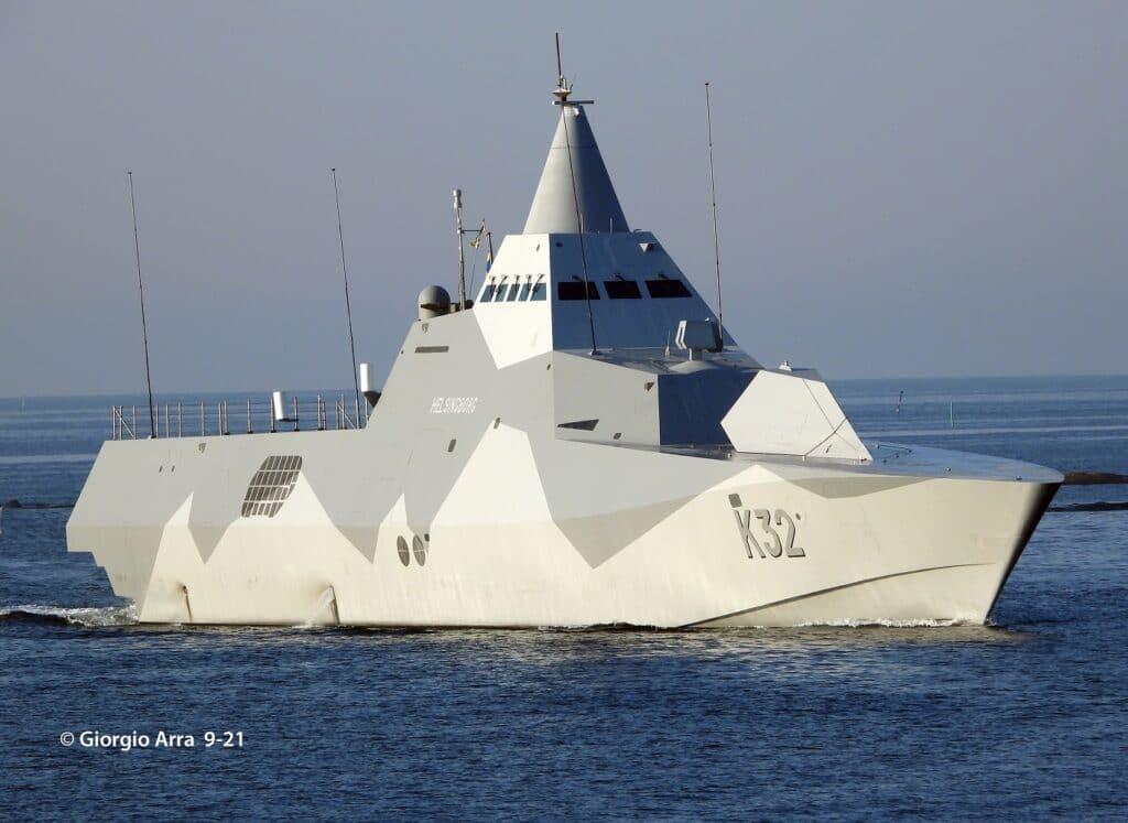 Swedish Navy Visby-class corvette Helsingborg